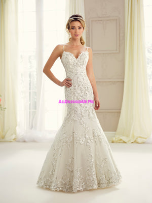 Enchanting - 217124 - All Dressed Up, Bridal Gown - Mon Cheri - - Wedding Gowns Dresses Chattanooga Hixson Shops Boutiques Tennessee TN Georgia GA MSRP Lowest Prices Sale Discount