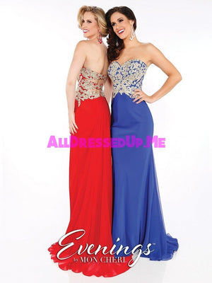 Evenings - MCE11608 - All Dressed Up, Prom/Party - - Dresses Two Piece Cut Out Sweetheart Halter Low Back High Neck Print Beaded Chiffon Jersey Fitted Sexy Satin Lace Jeweled Sparkle Shimmer Sleeveless Stunning Gorgeous Modest See Through Transparent Glitter Special Occasions Event Chattanooga Hixson Shops Boutiques Tennessee TN Georgia GA MSRP Lowest Prices Sale Discount