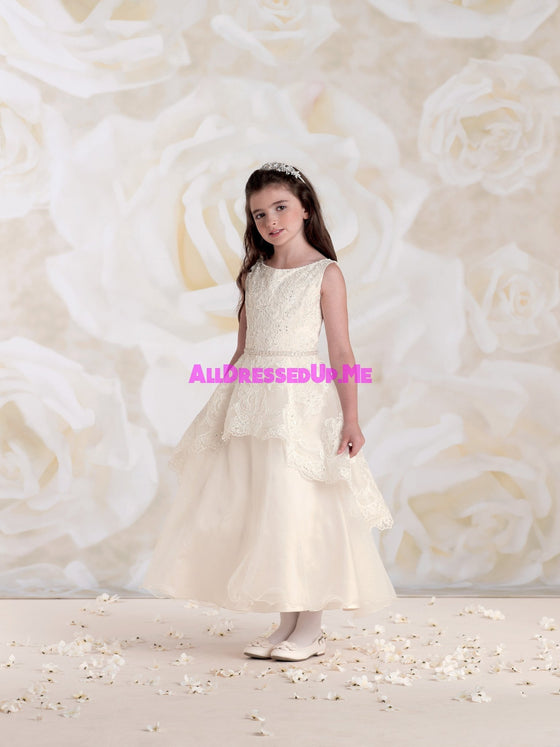 Joan Calabrese - 115313 - All Dressed Up, Flower Girl - Mon Cheri - - Dresses Wedding Youth Child Girls Children First Holy Communion special event Chattanooga Hixson Shops Boutiques Tennessee TN Georgia GA MSRP Lowest Prices Sale Discount