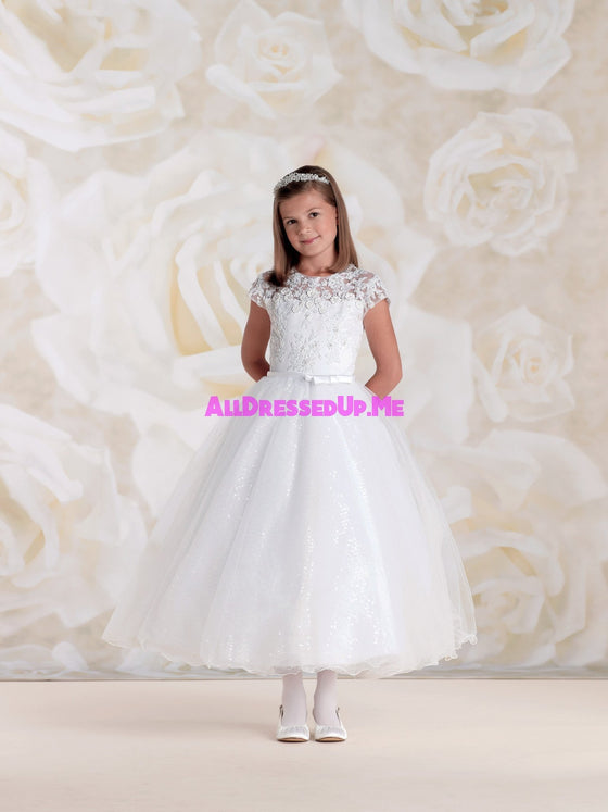Joan Calabrese - 115317 - All Dressed Up, Flower Girl - Mon Cheri - - Dresses Wedding Youth Child Girls Children First Holy Communion special event Chattanooga Hixson Shops Boutiques Tennessee TN Georgia GA MSRP Lowest Prices Sale Discount
