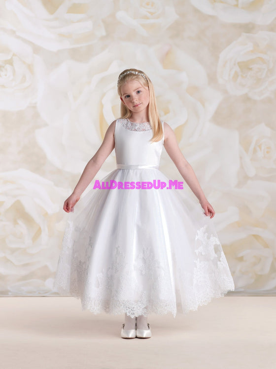 Joan Calabrese - 115318 - All Dressed Up, Flower Girl - Mon Cheri - - Dresses Wedding Youth Child Girls Children First Holy Communion special event Chattanooga Hixson Shops Boutiques Tennessee TN Georgia GA MSRP Lowest Prices Sale Discount