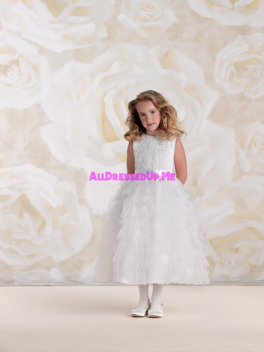 Joan Calabrese - 115326B - All Dressed Up, Flower Girl - Mon Cheri - - Dresses Wedding Youth Child Girls Children First Holy Communion special event Chattanooga Hixson Shops Boutiques Tennessee TN Georgia GA MSRP Lowest Prices Sale Discount