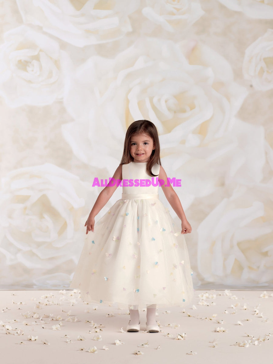 Joan Calabrese - 115328 - All Dressed Up, Flower Girl - Mon Cheri - - Dresses Wedding Youth Child Girls Children First Holy Communion special event Chattanooga Hixson Shops Boutiques Tennessee TN Georgia GA MSRP Lowest Prices Sale Discount