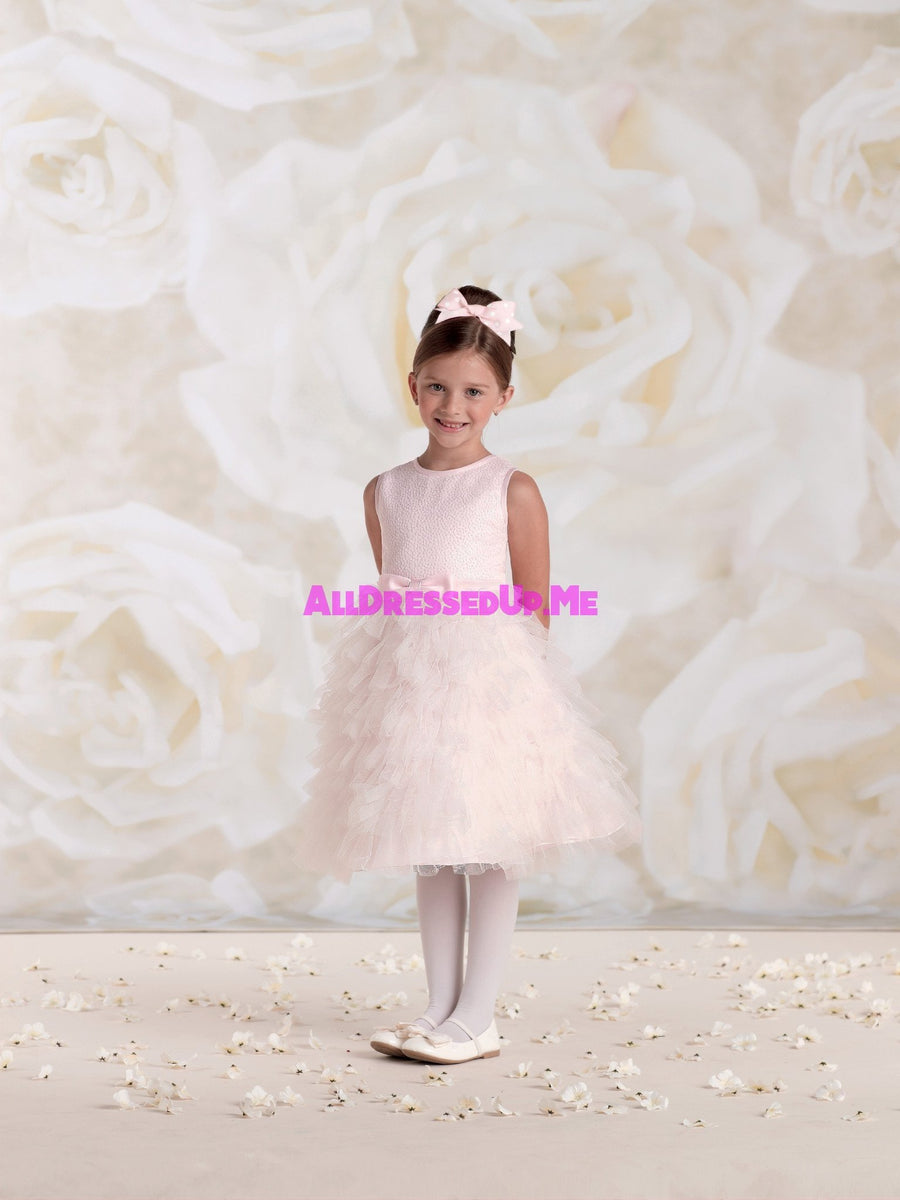 Joan Calabrese - 115329B - All Dressed Up, Flower Girl - Mon Cheri - - Dresses Wedding Youth Child Girls Children First Holy Communion special event Chattanooga Hixson Shops Boutiques Tennessee TN Georgia GA MSRP Lowest Prices Sale Discount