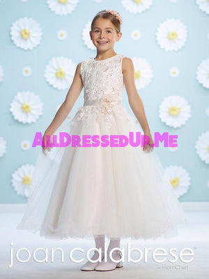 Joan Calabrese - 116364 - All Dressed Up, Flower Girl - Mon Cheri - - Dresses Wedding Youth Child Girls Children First Holy Communion special event Chattanooga Hixson Shops Boutiques Tennessee TN Georgia GA MSRP Lowest Prices Sale Discount