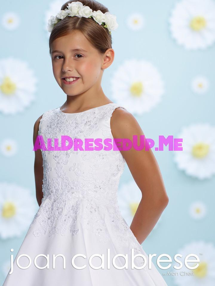 Joan Calabrese - 116384 - All Dressed Up, Flower Girl - Mon Cheri - - Dresses Wedding Youth Child Girls Children First Holy Communion special event Chattanooga Hixson Shops Boutiques Tennessee TN Georgia GA MSRP Lowest Prices Sale Discount