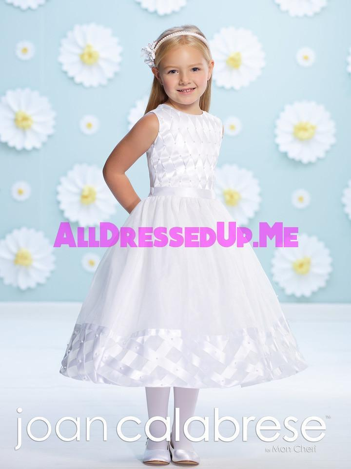 Joan Calabrese - 116386 - All Dressed Up, Flower Girl - Mon Cheri - - Dresses Wedding Youth Child Girls Children First Holy Communion special event Chattanooga Hixson Shops Boutiques Tennessee TN Georgia GA MSRP Lowest Prices Sale Discount