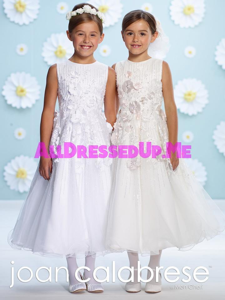 Joan Calabrese - 116387 - All Dressed Up, Flower Girl - Mon Cheri - - Dresses Wedding Youth Child Girls Children First Holy Communion special event Chattanooga Hixson Shops Boutiques Tennessee TN Georgia GA MSRP Lowest Prices Sale Discount