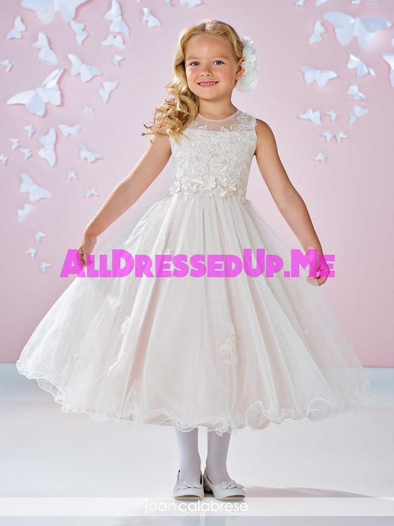Joan Calabrese - 117333 - All Dressed Up, Flower Girl - Mon Cheri - - Dresses Wedding Youth Child Girls Children First Holy Communion special event Chattanooga Hixson Shops Boutiques Tennessee TN Georgia GA MSRP Lowest Prices Sale Discount