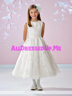 Joan Calabrese - 117334 - All Dressed Up, Flower Girl - Mon Cheri - - Dresses Wedding Youth Child Girls Children First Holy Communion special event Chattanooga Hixson Shops Boutiques Tennessee TN Georgia GA MSRP Lowest Prices Sale Discount