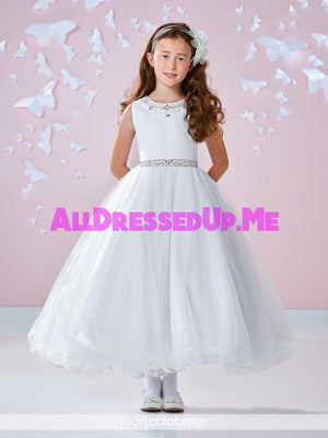 Joan Calabrese - 117344X - All Dressed Up, Flower Girl - Mon Cheri - - Dresses Wedding Youth Child Girls Children First Holy Communion special event Chattanooga Hixson Shops Boutiques Tennessee TN Georgia GA MSRP Lowest Prices Sale Discount
