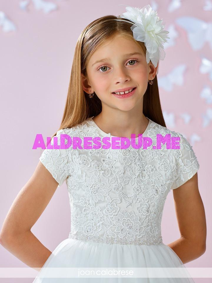 Joan Calabrese - 117349X - All Dressed Up, Flower Girl - Mon Cheri - - Dresses Wedding Youth Child Girls Children First Holy Communion special event Chattanooga Hixson Shops Boutiques Tennessee TN Georgia GA MSRP Lowest Prices Sale Discount