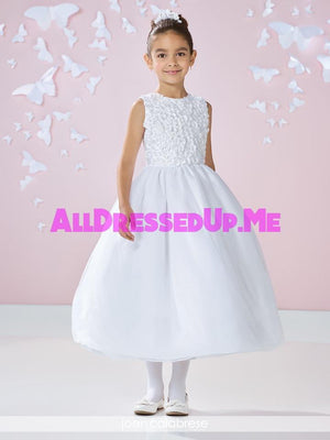Joan Calabrese - 117357 - All Dressed Up, Flower Girl - Mon Cheri - - Dresses Wedding Youth Child Girls Children First Holy Communion special event Chattanooga Hixson Shops Boutiques Tennessee TN Georgia GA MSRP Lowest Prices Sale Discount
