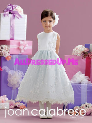 Joan Calabrese - 215344 - All Dressed Up, Flower Girl - Mon Cheri - - Dresses Wedding Youth Child Girls Children First Holy Communion special event Chattanooga Hixson Shops Boutiques Tennessee TN Georgia GA MSRP Lowest Prices Sale Discount