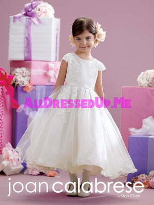Joan Calabrese - 215347 - All Dressed Up, Flower Girl - Mon Cheri - - Dresses Wedding Youth Child Girls Children First Holy Communion special event Chattanooga Hixson Shops Boutiques Tennessee TN Georgia GA MSRP Lowest Prices Sale Discount