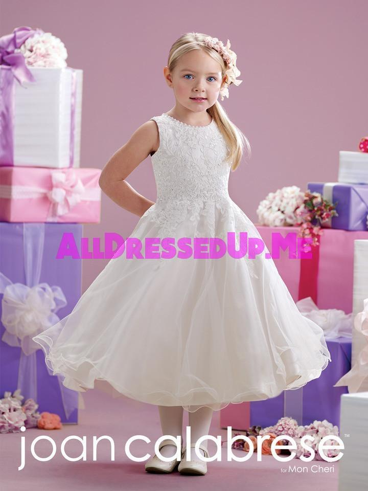 Joan Calabrese - 215349 - All Dressed Up, Flower Girl - Mon Cheri - - Dresses Wedding Youth Child Girls Children First Holy Communion special event Chattanooga Hixson Shops Boutiques Tennessee TN Georgia GA MSRP Lowest Prices Sale Discount