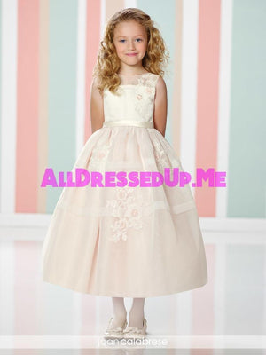 Joan Calabrese - 216305 - All Dressed Up, Flower Girl - Mon Cheri - - Dresses Wedding Youth Child Girls Children First Holy Communion special event Chattanooga Hixson Shops Boutiques Tennessee TN Georgia GA MSRP Lowest Prices Sale Discount