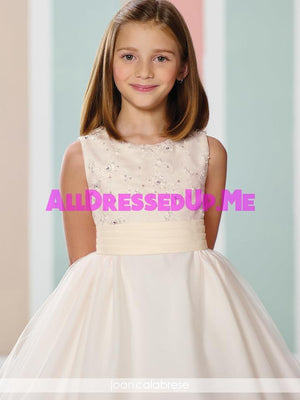 Joan Calabrese - 216312 - All Dressed Up, Flower Girl - Mon Cheri - - Dresses Wedding Youth Child Girls Children First Holy Communion special event Chattanooga Hixson Shops Boutiques Tennessee TN Georgia GA MSRP Lowest Prices Sale Discount