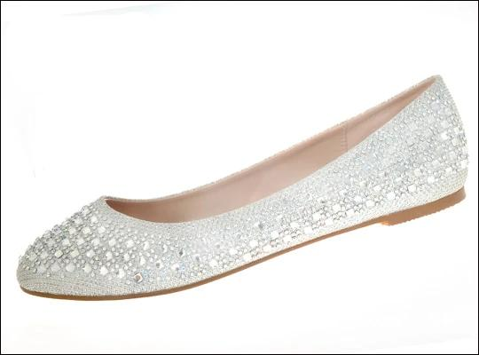 Your Party Shoes - Hanna - All Dressed Up, Shoes-Shoes-Your Party Shoes-5-Silver-All Dressed Up - Bridal Prom Tuxedo