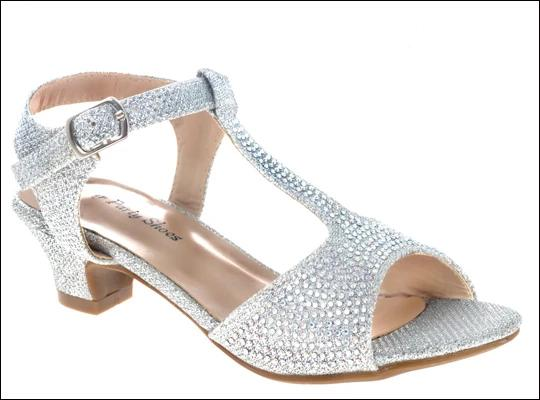 Your Party Shoes - Holly - All Dressed Up, Shoes-Shoes-Your Party Shoes-5-Silver-All Dressed Up - Bridal Prom Tuxedo