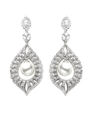 David Tutera Embellish - Lena Earrings - All Dressed Up, Jewelry