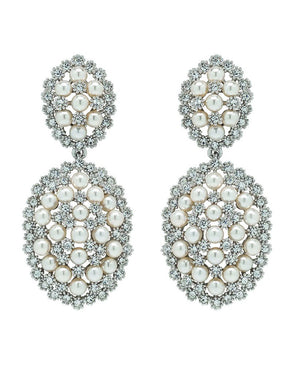 David Tutera Embellish - Meredith Earrings - All Dressed Up, Jewelry