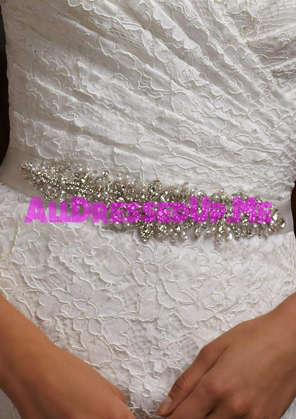 ML Accessories - 11004 - All Dressed Up, Bridal Belt - Morilee - Chattanooga TN's All Dressed Up Bridal Shop / Bridal Boutique offers Wedding Gowns, Prom Dresses & Tuxedo Rentals