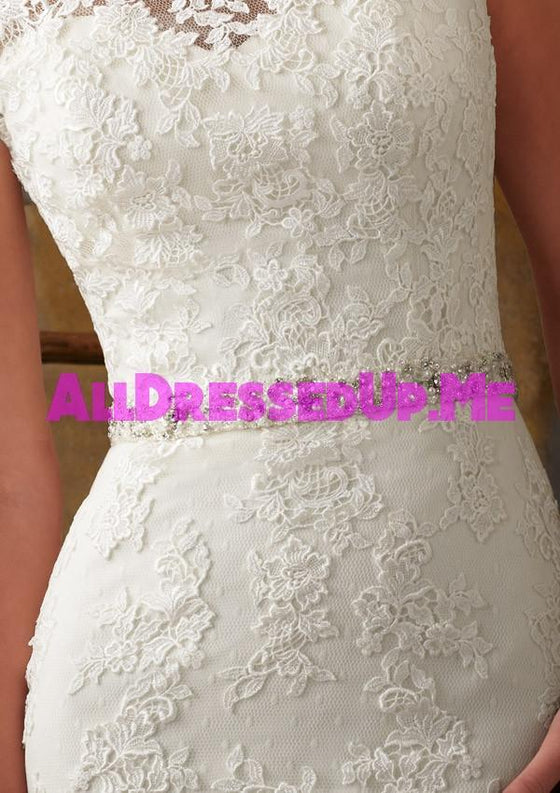 ML Accessories - 11009 - All Dressed Up, Bridal Belt - Morilee - Chattanooga TN's All Dressed Up Bridal Shop / Bridal Boutique offers Wedding Gowns, Prom Dresses & Tuxedo Rentals