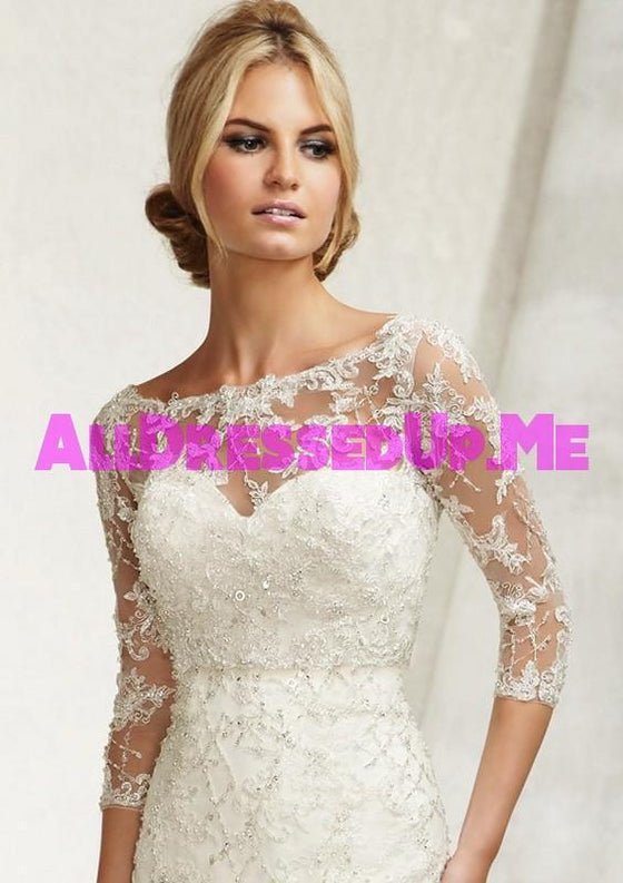 ML Accessories - 11014 - All Dressed Up, Bridal Jacket - Morilee - Chattanooga TN's All Dressed Up Bridal Shop / Bridal Boutique offers Wedding Gowns, Prom Dresses & Tuxedo Rentals