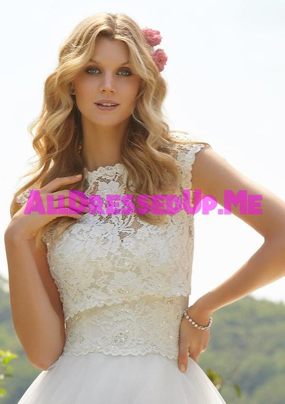ML Accessories - 11015 - All Dressed Up, Bridal Jacket - Morilee - Chattanooga TN's All Dressed Up Bridal Shop / Bridal Boutique offers Wedding Gowns, Prom Dresses & Tuxedo Rentals