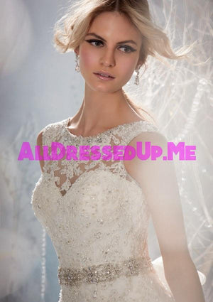 ML Accessories - 11031 - All Dressed Up, Bridal Sash - Morilee - Chattanooga TN's All Dressed Up Bridal Shop / Bridal Boutique offers Wedding Gowns, Prom Dresses & Tuxedo Rentals