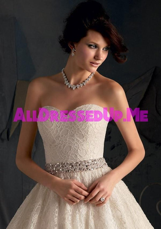 ML Accessories - 11037 - All Dressed Up, Bridal Sash - Morilee - Chattanooga TN's All Dressed Up Bridal Shop / Bridal Boutique offers Wedding Gowns, Prom Dresses & Tuxedo Rentals