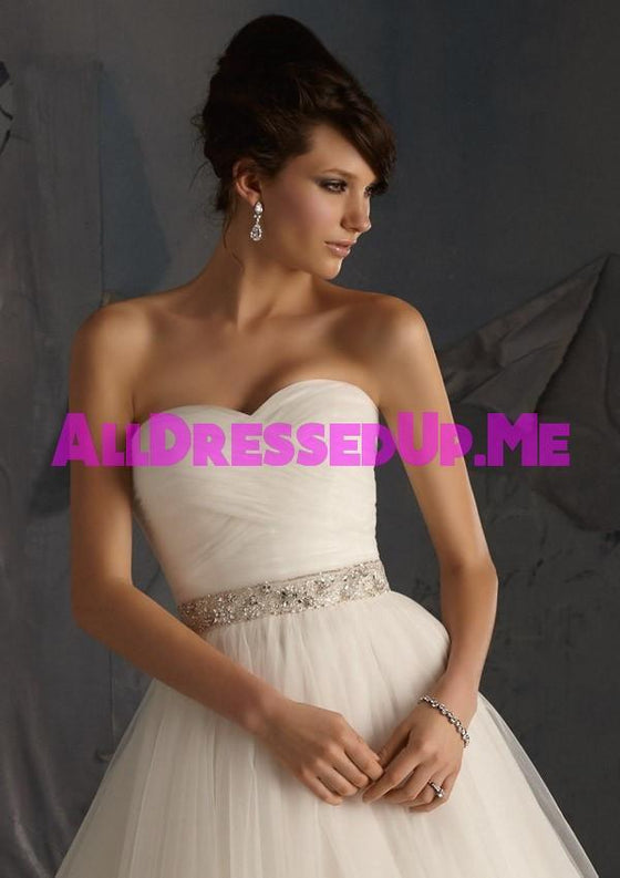 ML Accessories - 11039 - All Dressed Up, Bridal Sash - Morilee - Chattanooga TN's All Dressed Up Bridal Shop / Bridal Boutique offers Wedding Gowns, Prom Dresses & Tuxedo Rentals
