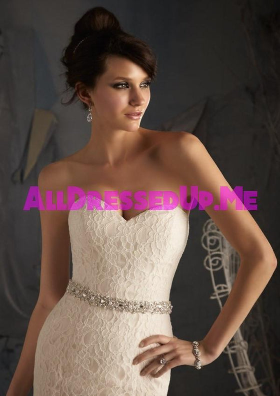 ML Accessories - 11040 - All Dressed Up, Bridal Sash - Morilee - Chattanooga TN's All Dressed Up Bridal Shop / Bridal Boutique offers Wedding Gowns, Prom Dresses & Tuxedo Rentals