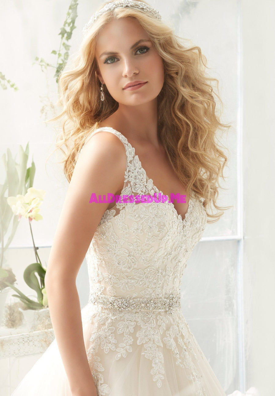ML Accessories - 11224 - All Dressed Up, Bridal Belt - Morilee - Chattanooga TN's All Dressed Up Bridal Shop / Bridal Boutique offers Wedding Gowns, Prom Dresses & Tuxedo Rentals