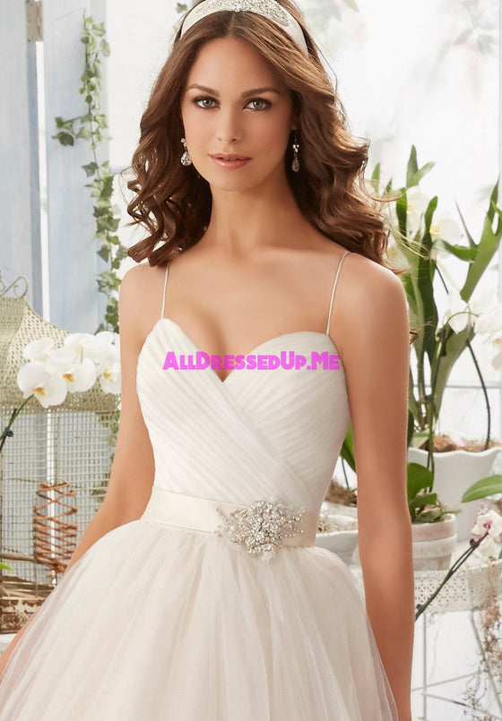 ML Accessories - 11227 - All Dressed Up, Bridal Sash - Morilee - Chattanooga TN's All Dressed Up Bridal Shop / Bridal Boutique offers Wedding Gowns, Prom Dresses & Tuxedo Rentals