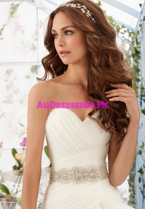 ML Accessories - 11231 - All Dressed Up, Bridal Belt - Morilee - Chattanooga TN's All Dressed Up Bridal Shop / Bridal Boutique offers Wedding Gowns, Prom Dresses & Tuxedo Rentals