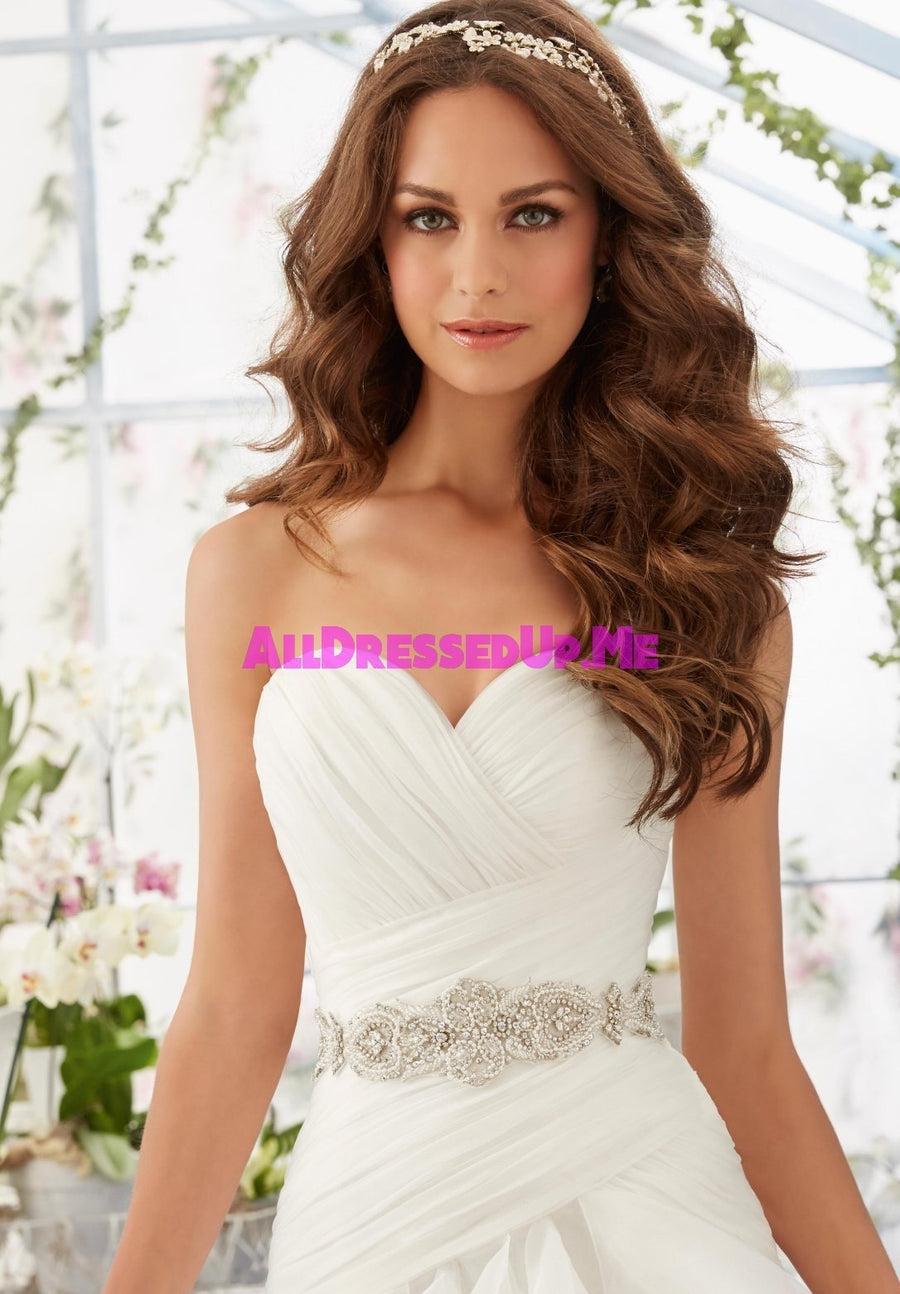 ML Accessories - 11233 - All Dressed Up, Bridal Belt - Morilee - Chattanooga TN's All Dressed Up Bridal Shop / Bridal Boutique offers Wedding Gowns, Prom Dresses & Tuxedo Rentals