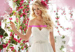 ML Accessories - 11236 - All Dressed Up, Bridal Belt - Morilee - Chattanooga TN's All Dressed Up Bridal Shop / Bridal Boutique offers Wedding Gowns, Prom Dresses & Tuxedo Rentals