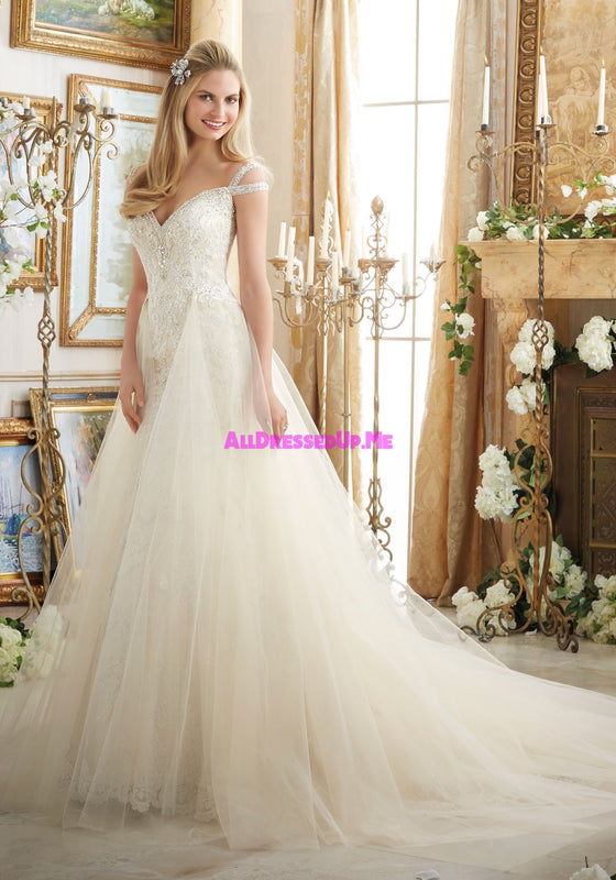 ML Accessories - 11242 - All Dressed Up, Bridal Overskirt - Morilee - Chattanooga TN's All Dressed Up Bridal Shop / Bridal Boutique offers Wedding Gowns, Prom Dresses & Tuxedo Rentals