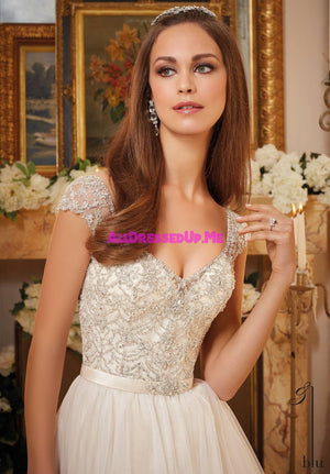 ML Accessories - 11244 - All Dressed Up, Bridal Belt - Morilee - Chattanooga TN's All Dressed Up Bridal Shop / Bridal Boutique offers Wedding Gowns, Prom Dresses & Tuxedo Rentals