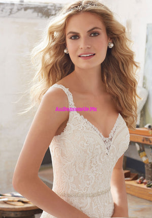 ML Accessories - 11253 - All Dressed Up, Bridal Belt - Morilee - Chattanooga TN's All Dressed Up Bridal Shop / Bridal Boutique offers Wedding Gowns, Prom Dresses & Tuxedo Rentals