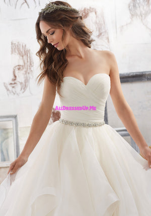 ML Accessories - 11254 - All Dressed Up, Bridal Belt - Morilee - Chattanooga TN's All Dressed Up Bridal Shop / Bridal Boutique offers Wedding Gowns, Prom Dresses & Tuxedo Rentals