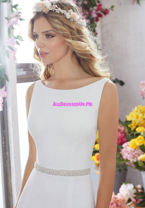 ML Accessories - 11258 - All Dressed Up, Bridal Belt - Morilee - Chattanooga TN's All Dressed Up Bridal Shop / Bridal Boutique offers Wedding Gowns, Prom Dresses & Tuxedo Rentals