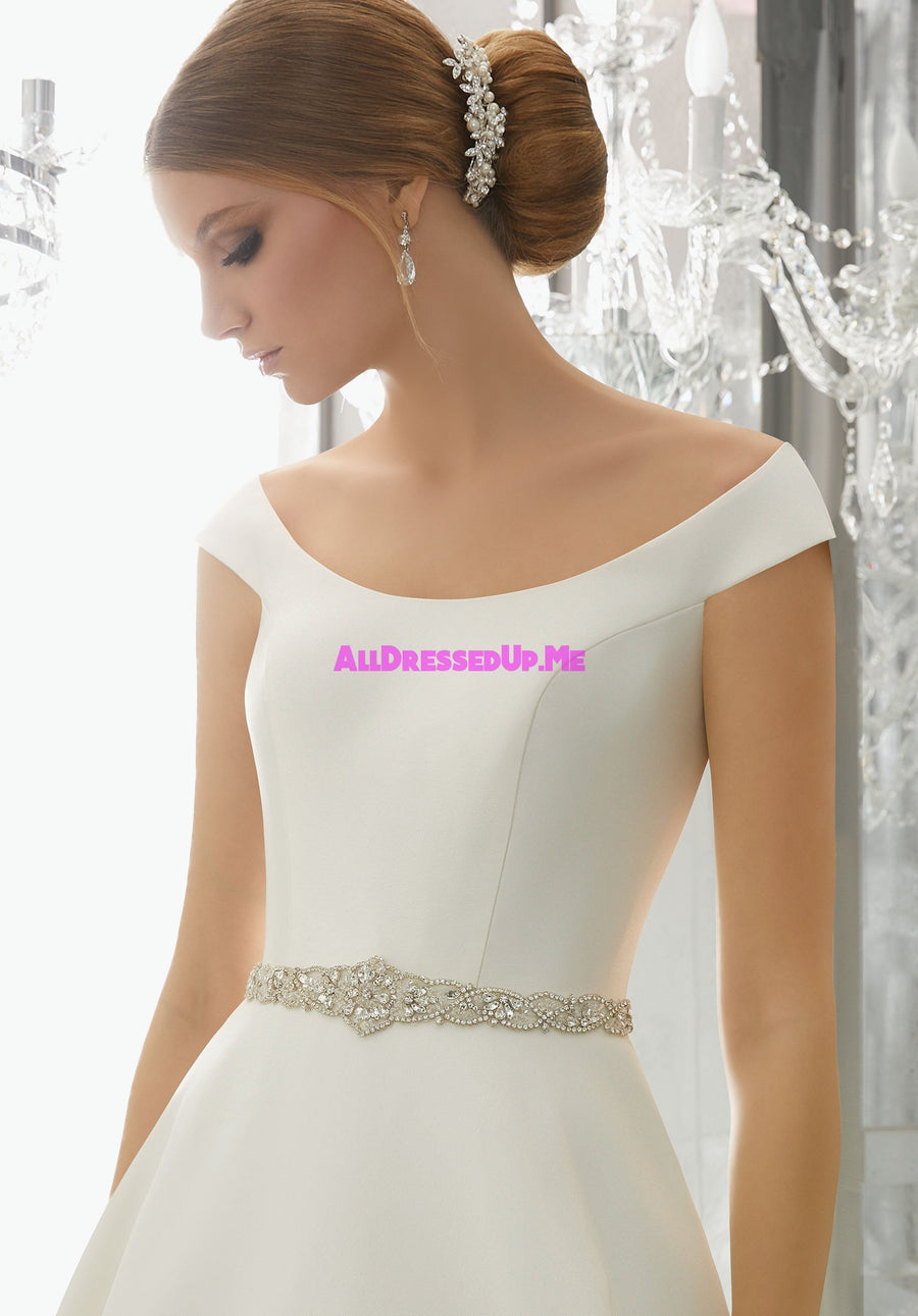 ML Accessories - 11261 - All Dressed Up, Bridal Belt - Morilee - Chattanooga TN's All Dressed Up Bridal Shop / Bridal Boutique offers Wedding Gowns, Prom Dresses & Tuxedo Rentals