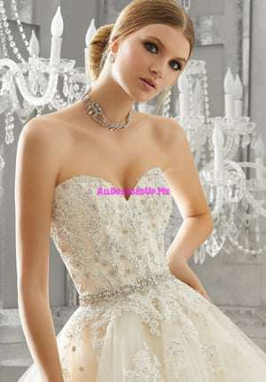 ML Accessories - 11263 - All Dressed Up, Bridal Belt - Morilee - Chattanooga TN's All Dressed Up Bridal Shop / Bridal Boutique offers Wedding Gowns, Prom Dresses & Tuxedo Rentals