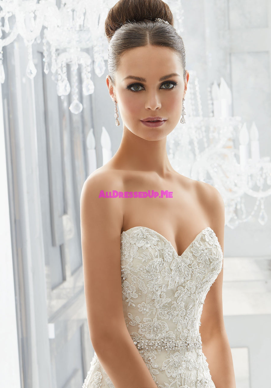 ML Accessories - 11265 - All Dressed Up, Bridal Belt - Morilee - Chattanooga TN's All Dressed Up Bridal Shop / Bridal Boutique offers Wedding Gowns, Prom Dresses & Tuxedo Rentals