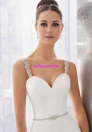 ML Accessories - 11266 - All Dressed Up, Bridal Belt - Morilee - Chattanooga TN's All Dressed Up Bridal Shop / Bridal Boutique offers Wedding Gowns, Prom Dresses & Tuxedo Rentals