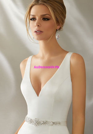 ML Accessories - 11269 - All Dressed Up, Bridal Belt - Morilee - Chattanooga TN's All Dressed Up Bridal Shop / Bridal Boutique offers Wedding Gowns, Prom Dresses & Tuxedo Rentals