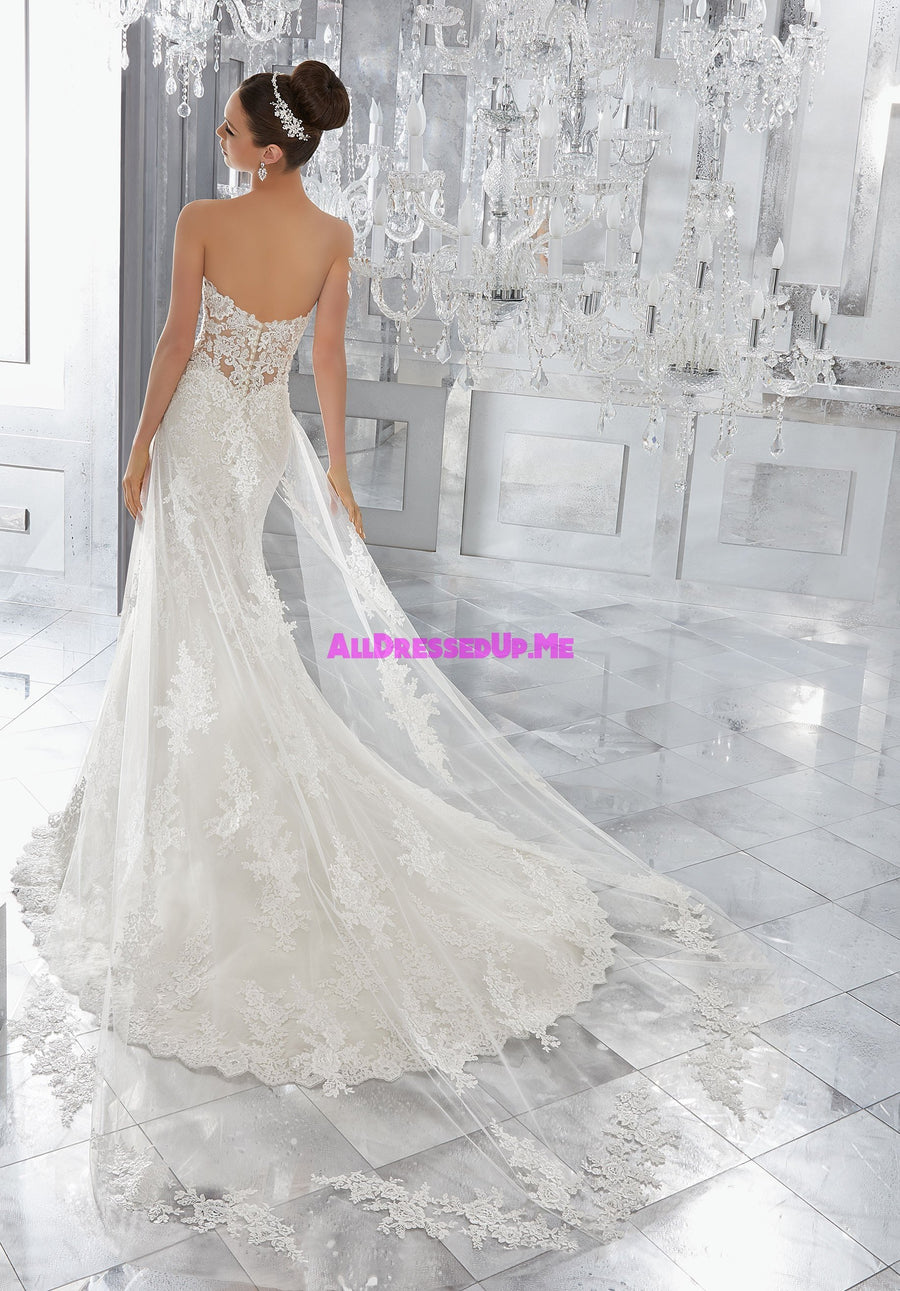 ML Accessories - 11273 - All Dressed Up, Bridal Train - Morilee - Chattanooga TN's All Dressed Up Bridal Shop / Bridal Boutique offers Wedding Gowns, Prom Dresses & Tuxedo Rentals